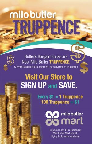 Milo Butler Truppence on My Deals Today Bahamas