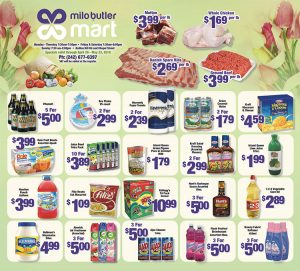 Monthly Specials from Milo Butler Mart on My Deals Today