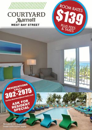 The Best Hotel in The Bahamas- Courtyard Marriott Nassau