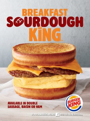 Sourdough King at Burger King Nassau - My Deals Today Bahamas