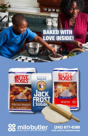 Baked with Love - Five Roses Flour Available at Milo Butler Distributors