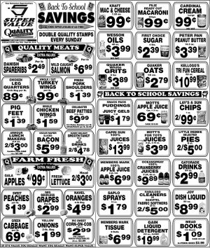 Back to School Savings is Available at Super Value - My Deals Today