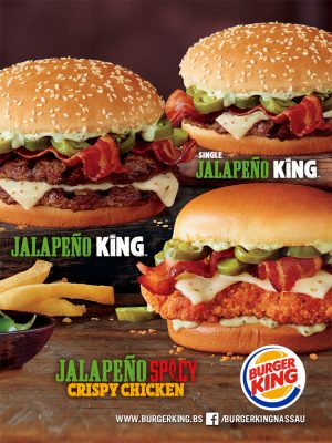 Jalapeño King at Burger King Nassau - My Deals Today Bahamas