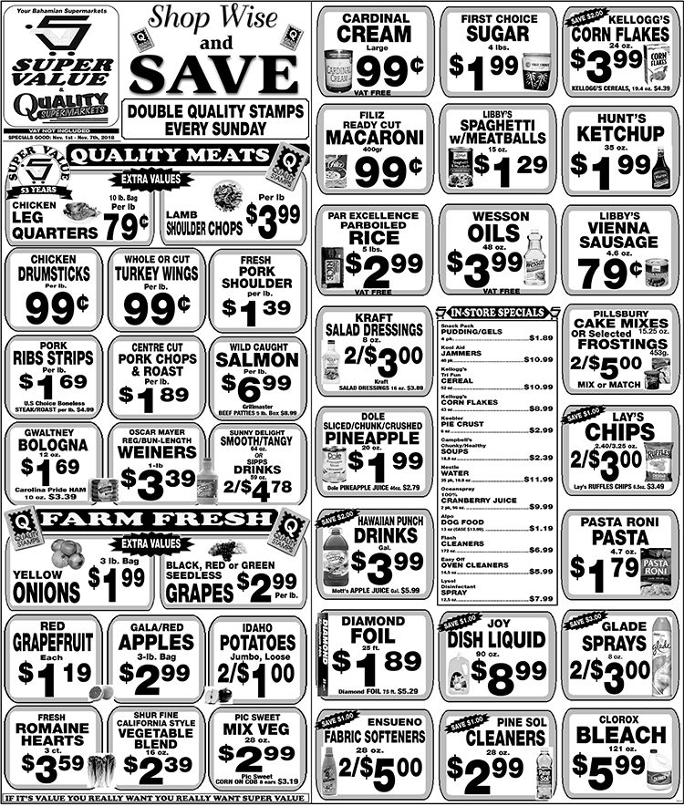 Shop Wise and Save