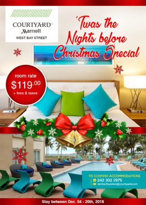 Special Room Rates at Courtyard Marriott Nassau - My Deals Today