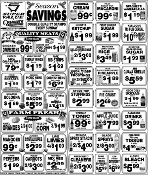 December Weekly Savings at Super Value and Quality Supermarkets
