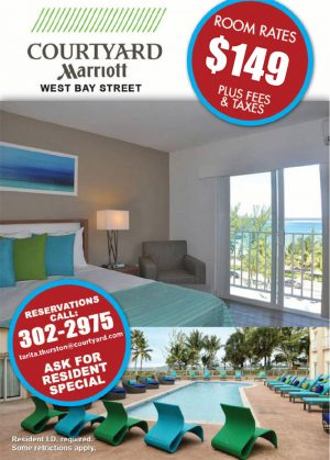 Special Room Rates - Courtyard Marriott Nassau - My Deals Today Bahamas