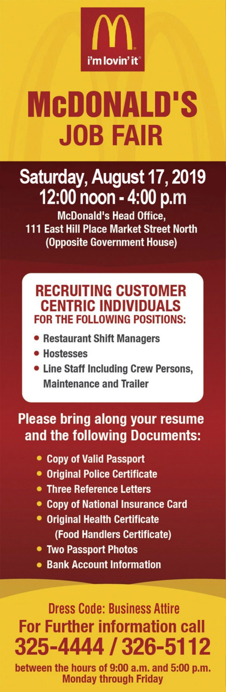 McDonald's Employment Opportunity