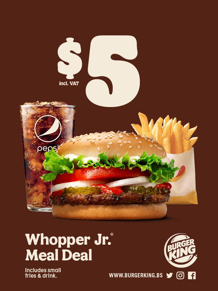 Whopper Jr. Meal Deal