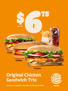 Original Chicken Sandwich Trio