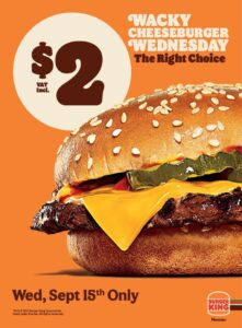 wacky cheeseburger